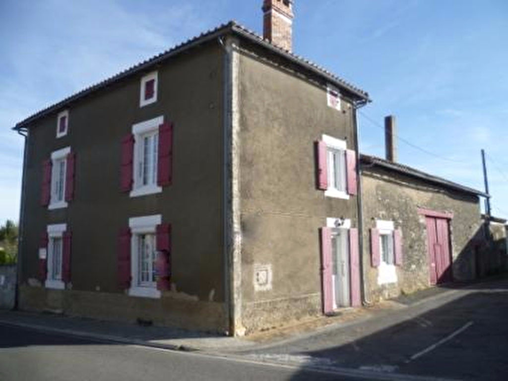 For Sale Maison De Village 165 M Saint Claud Europimmobilier 17 Average Cost Of Rewiring A 5 Bedroom House Bed Stone Charentaise Barn Large Garden
